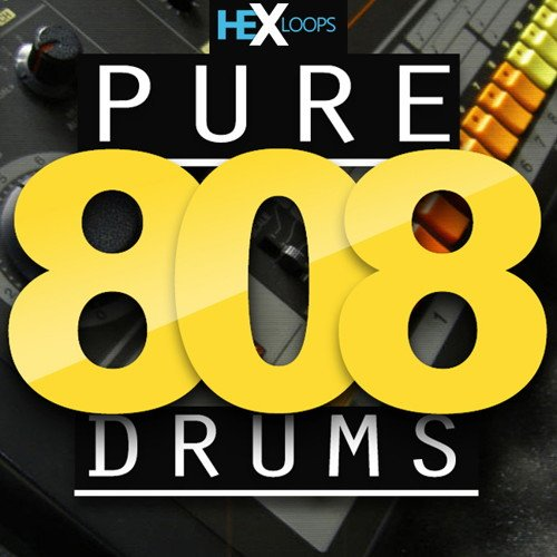 Pure 808 Drum Samples