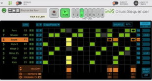 Reason Free Drum Sequencer Rack Extension