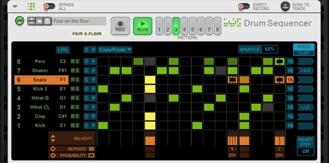 Free Drum Sequencer for Reason 10 Owners