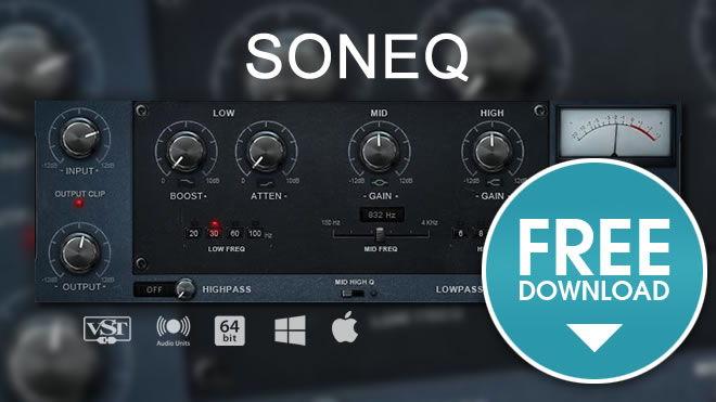 SonEQ Free VST Plugin