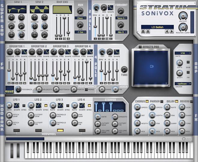 Sonivox Stratum VST Synthesizer Plugin
