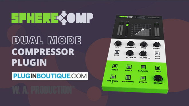 SphereCom WA Production Compressor VST Plugin
