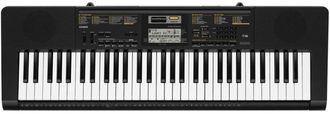 Casio CTK2400 61-Key Digital Portable Piano with USB
