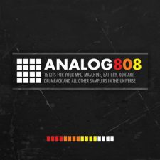 Analog 808 Drum Samples TR 808 Drum Kit