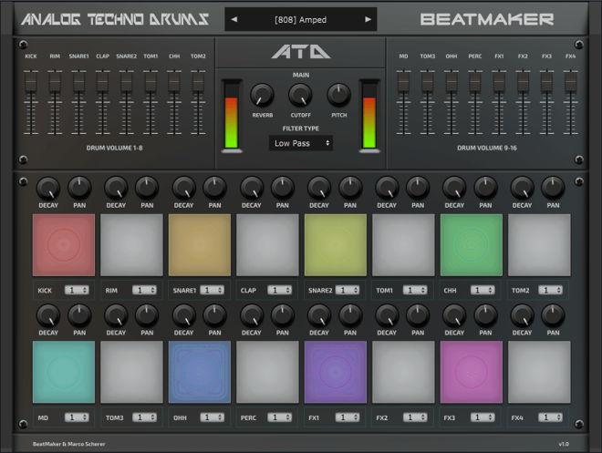 Analog Techno Drums VST Plugin