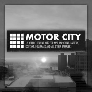 Marco Scherer Motor City Techno Drum Kits