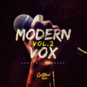 Modern Vox Vocals Shouts Phrases Vol 2