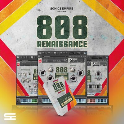 Sonics Empire 808 Kontakt Library