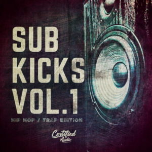Sub Kicks Vol 1 Kick Drum Samples Pack