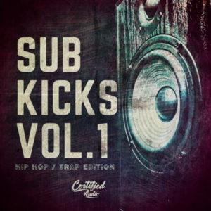 Sub Kicks Vol 1 Kick Drum Samples Pack