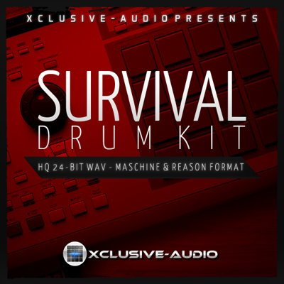 Xclusive Audio Survival Drum Kit Maschine