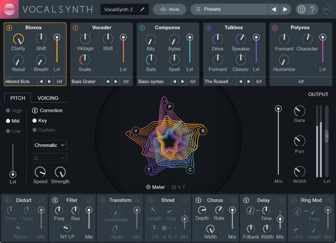 iZotope Vocalsynth 2 Vocal Plugin