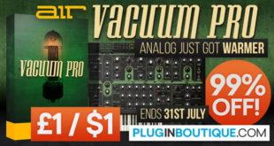 AIR Vacuum Pro Synth Plugin Sale