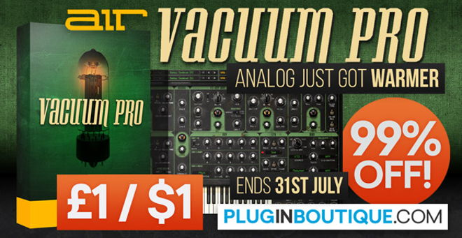 AIR Vacuum Pro Synth Plugin Sale