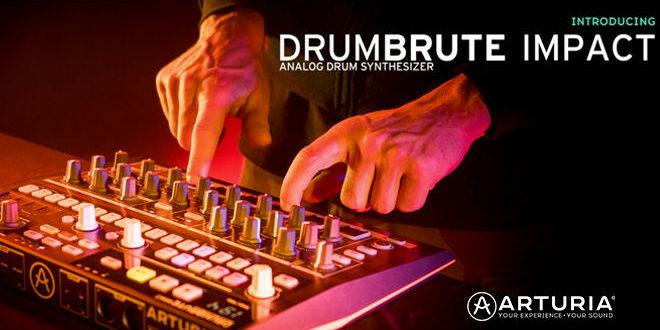 DrumBrute Impact Drum Machine Announced by Arturia