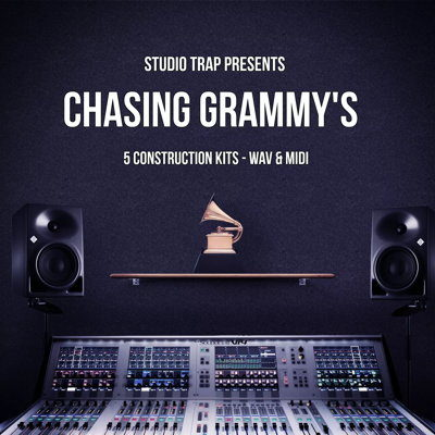 Chasing Grammy's Trap Studio Wav MIDI Loops