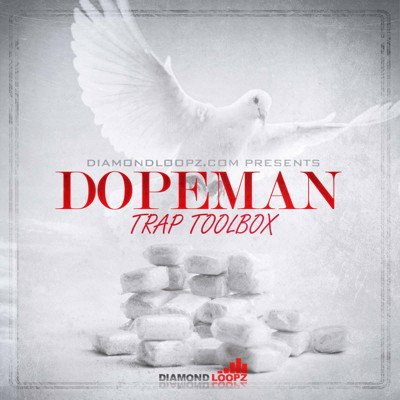 DiamondLoopz Dopeman Trap Drum Kit Trap Sound Pack