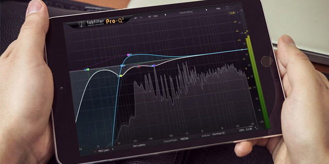Equalizer Fabfilter Pro-Q 2 Now Also for iOS