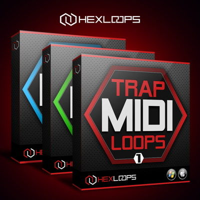 Hex Loops - Trap MIDI Loops Bundle