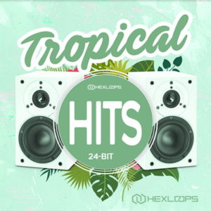 HexLoops Tropical Drum Kit Drum Samples Pack