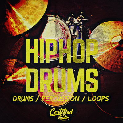 Hip Hop Drums Percussion Loops Pack