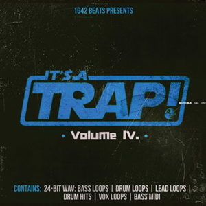 IT'S A TRAP MIDI LOOPS PACK IV