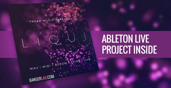 LIQUI Ableton Live Project Sample Pack