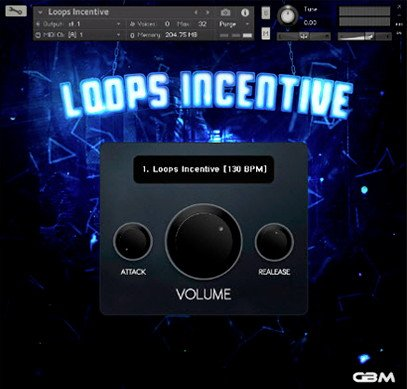 Loops Incentive Trap Kontakt Library