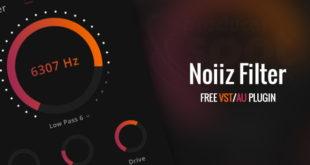 Noiiz Filter Free VST/AU Plugin Released by Noizz