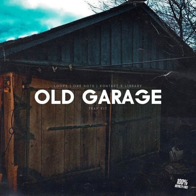 Old Garage Hip Hop Drum Kit, Kontakt Drum Samples