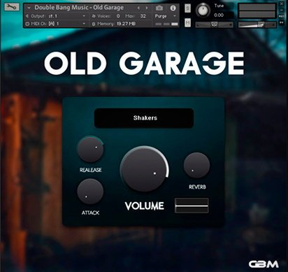Old Garage Kontakt Drum Library