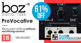 ProVocative VST Micro Pitch Shifting Plugin