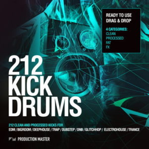 Production Master 212 Kick Drums Samples