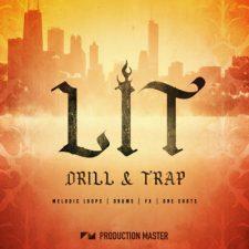 Production Master Lit Drill & Trap Drum Kit