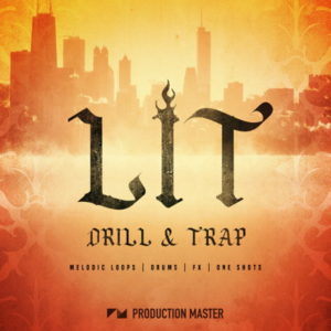 Production Master Lit Drill & Trap Drum Kit