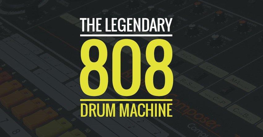 Roland TR-808 Drum Machine What Mean 808s
