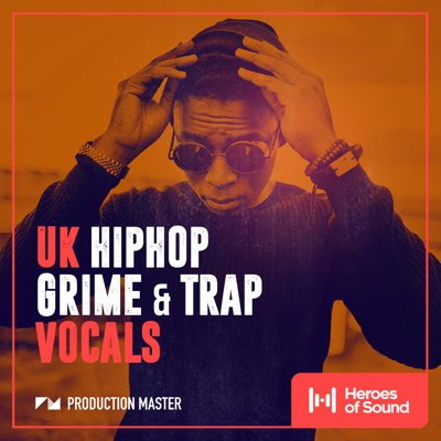 UK Hip-Hop Vocals, Grime & Trap Vocals Samples Pack