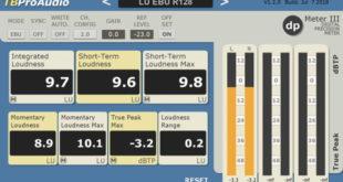 dpMeter 3 Free Metering Plugin Released by TBProAudio