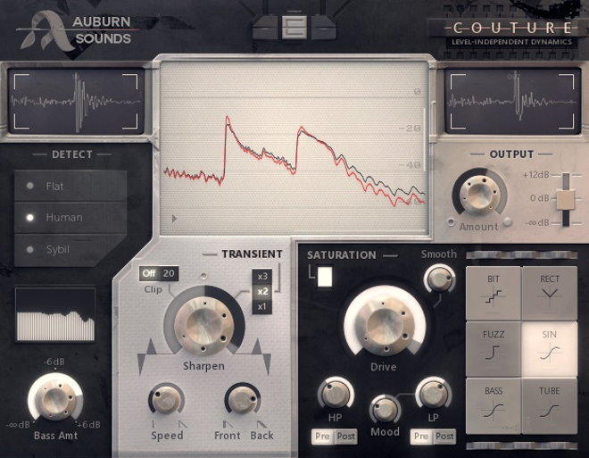 Auburn Sounds COUTURE Free VST Plugin