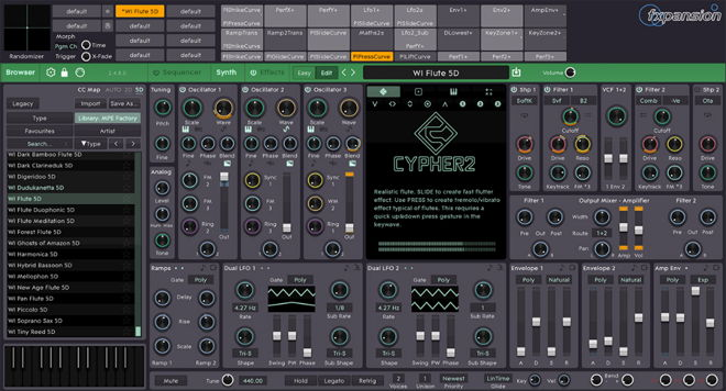 Cypher2 FXpansion Synth VST Plugin
