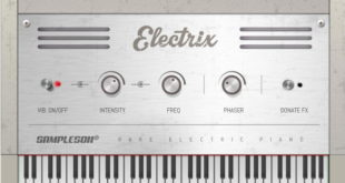 """Electrix"" Free Piano VST Plugin Released By Sampleson"