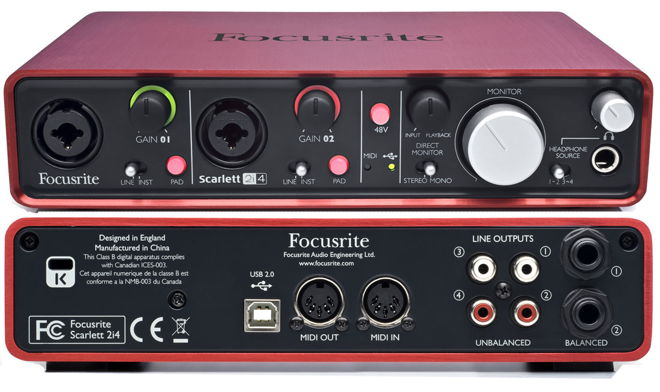 Focusrite Audio Interface