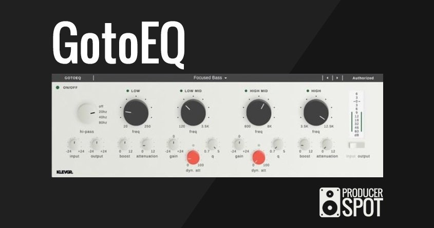 GotoEQ Eq VST Equalizer Plugin