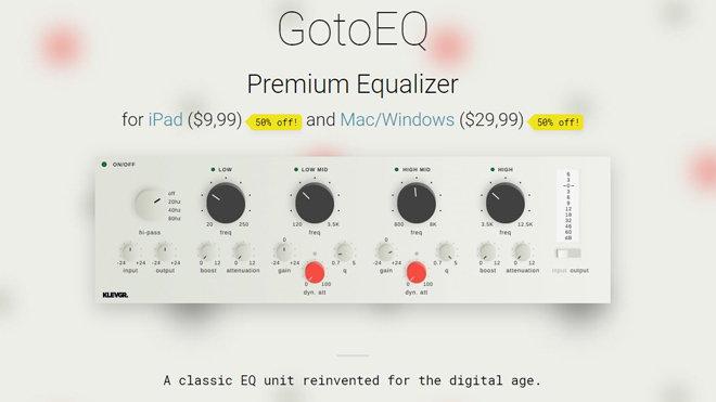 GotoEQ Equalizer VST Effect Plugin