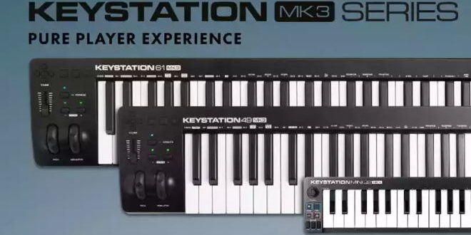 Keystation MK3 Series Announced by M-Audio