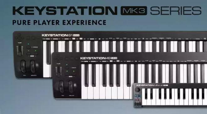 M-Audio Keystation MK3 Controllers