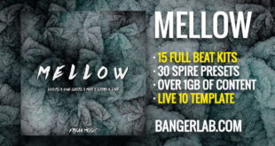 Mellow Ableton Live 10 Template Ableton Pack