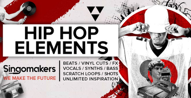 Singomakers Hip Hop Elements Beats Vinyl Cuts