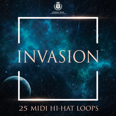 Studio Trap Invasion MIDI Hi-Hat Loops