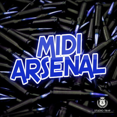 Studio Trap MIDI Loops Arsenal MIDI Files